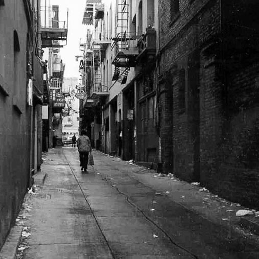 ross alley before renovation