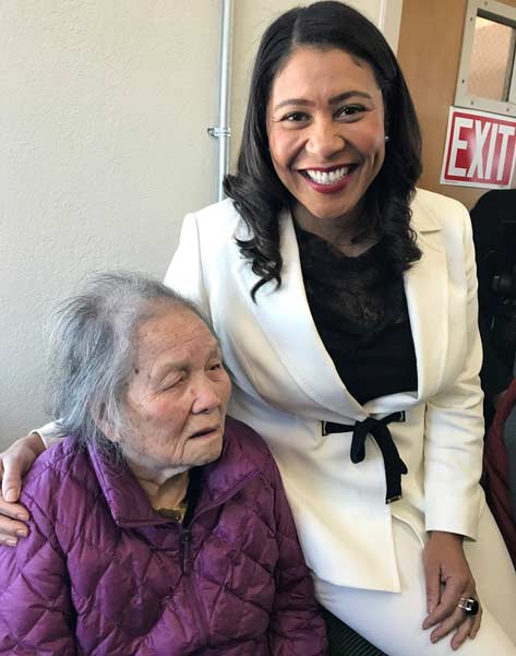 mayor london breed