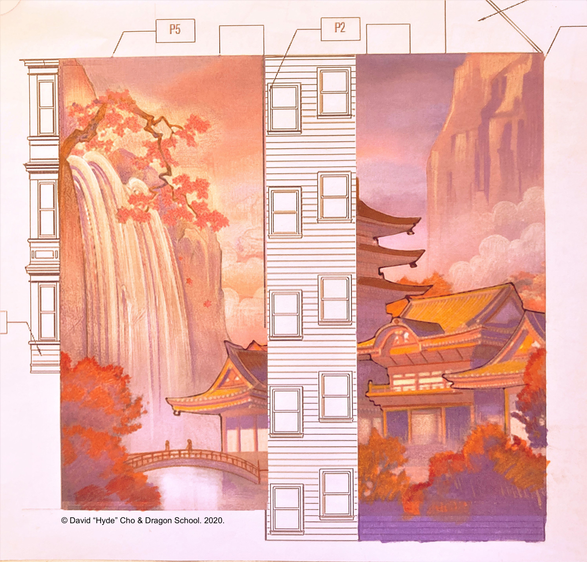 chinatown mural woh hei yuen 900 jackson 1201 powell san francisco request for artwork proposals