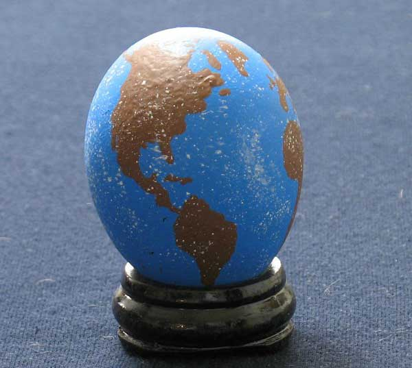 easter egg earth