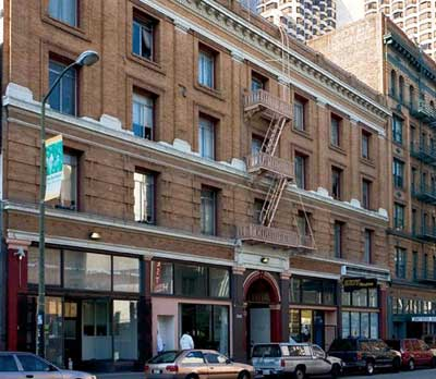 william penn hotel, 160 eddy street, san francisco